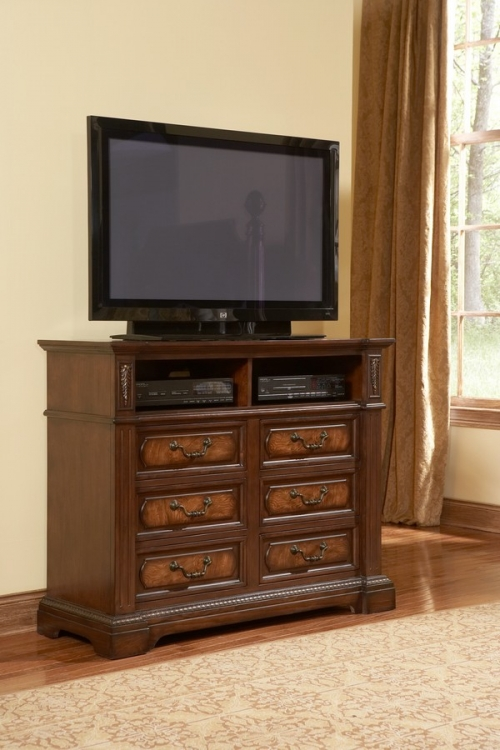 Bermingham TV Chest - Homelegance