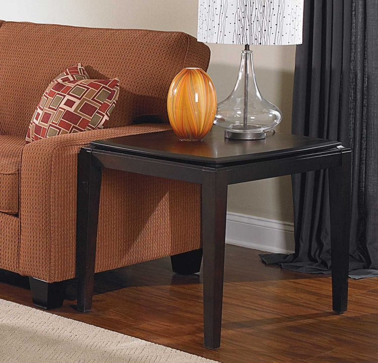 Daytona� End Table - Dark Espresso - Homelegance