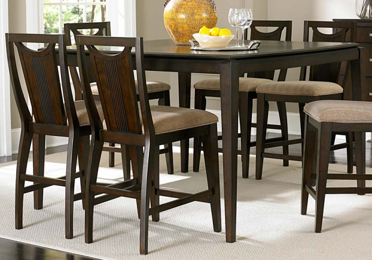 Daytona Counter Height Table - Homelegance