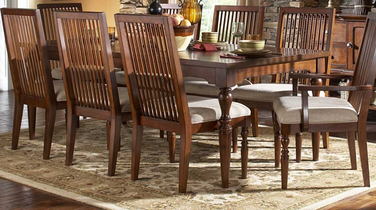 Mission Bend Dining Table with 18in Leaf