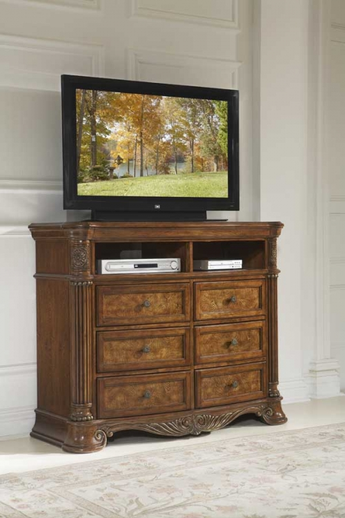 Golden Eagle TV Stand - Homelegance