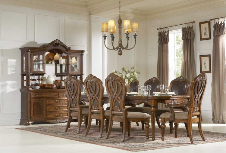 Golden Eagle Dining Set - Homelegance