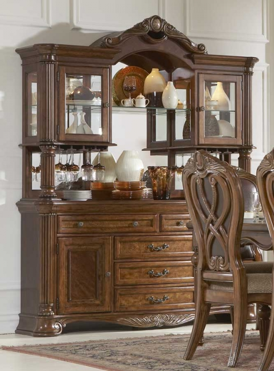 Golden Eagle China Cabinet