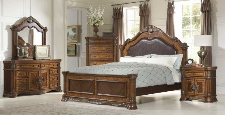 Golden Eagle Bedroom Set