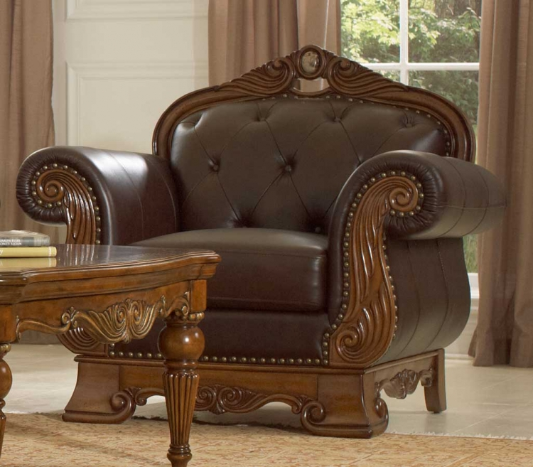 Golden Eagle Chair - Homelegance