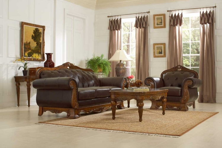 Golden Eagle Sofa Collection - Homelegance