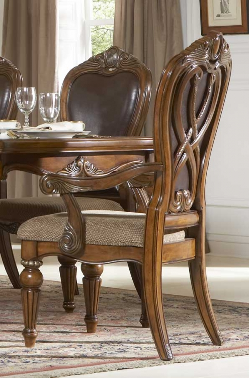 Golden Eagle Arm Chair - Homelegance