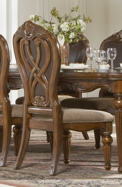 Golden Eagle Side Chair - Homelegance