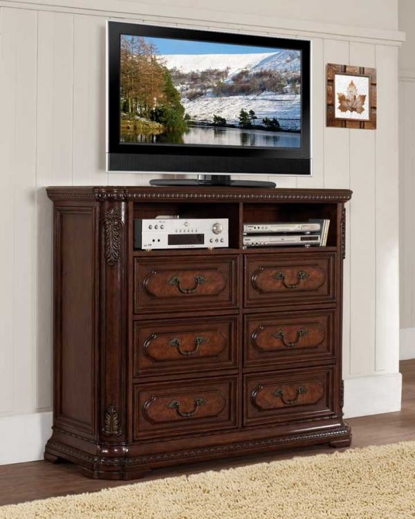 Spanish Bay TV Chest - Homelegance