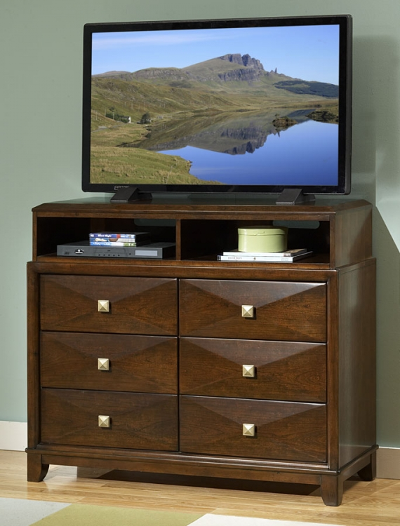 Diamond Palace TV Chest - Homelegance