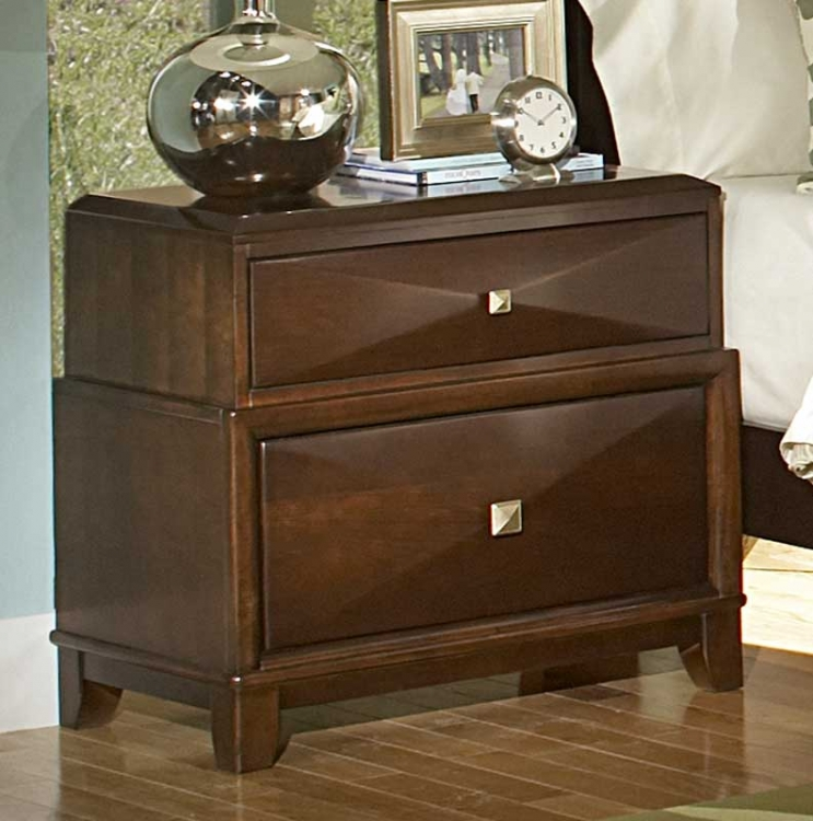 Diamond Palace Night Stand - Homelegance