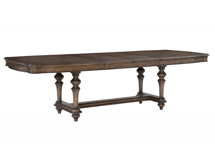 Heath Court Dining Table - Brown Oak