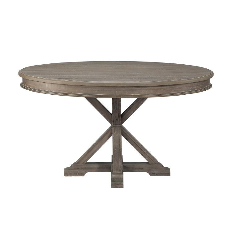 Cardano Round DiningTable - Driftwood Light Brown