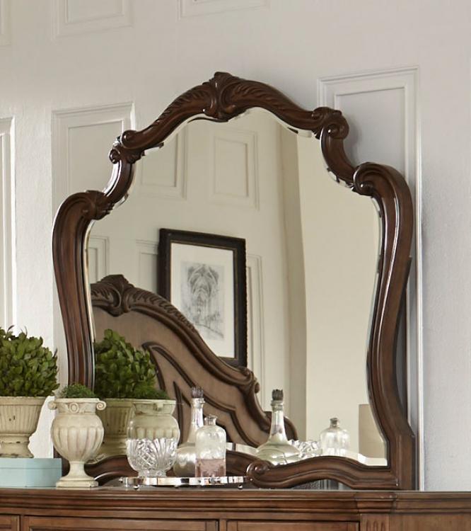 Moorewood Park Mirror - Pecan