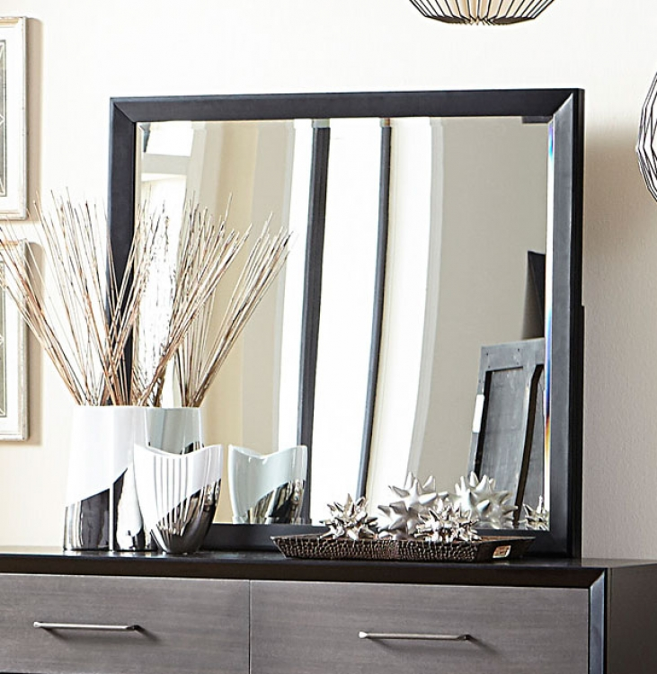 Homelegance Raku Mirror - Barnwood Grey