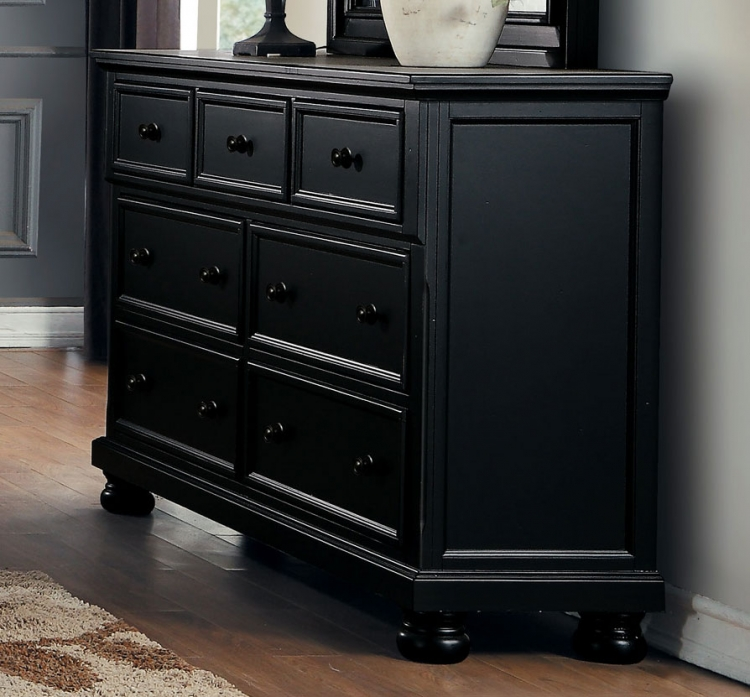 Laurelin Dresser - Black Sand-Thru