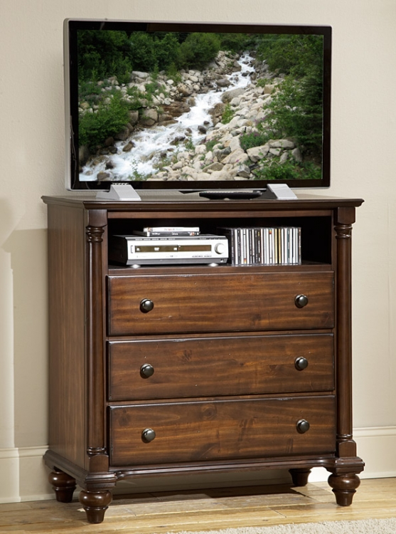 Lily Pond TV Chest