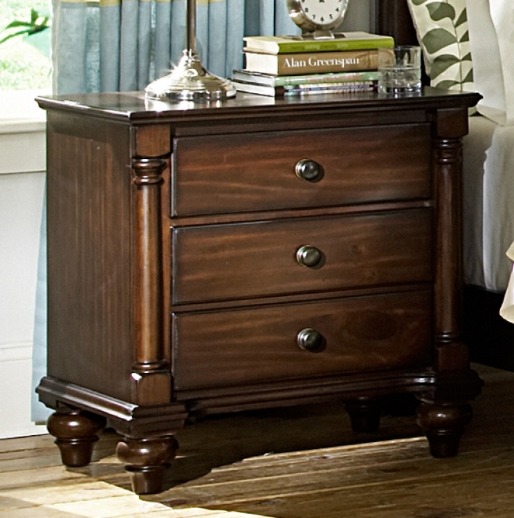 Lily Pond Night Stand - Homelegance