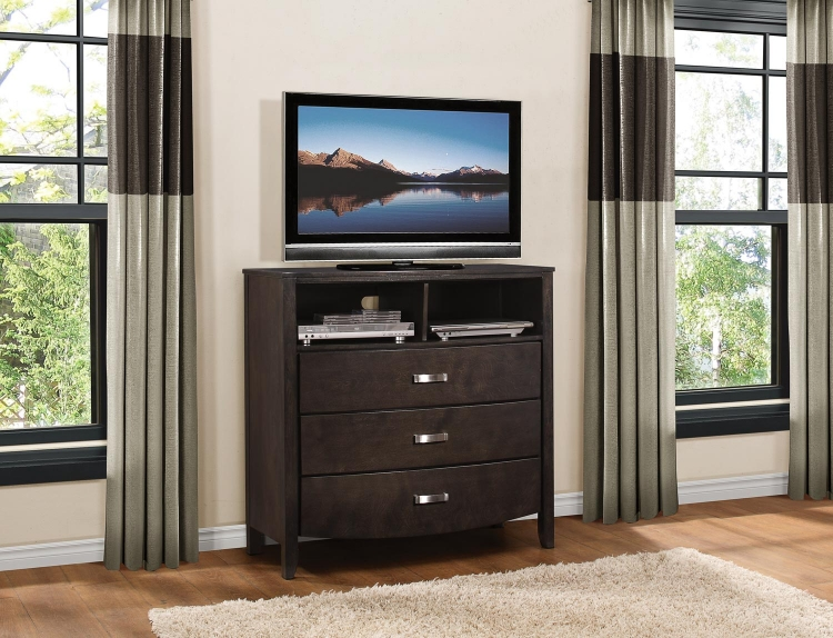 Lyric TV Chest - Brownish Grey