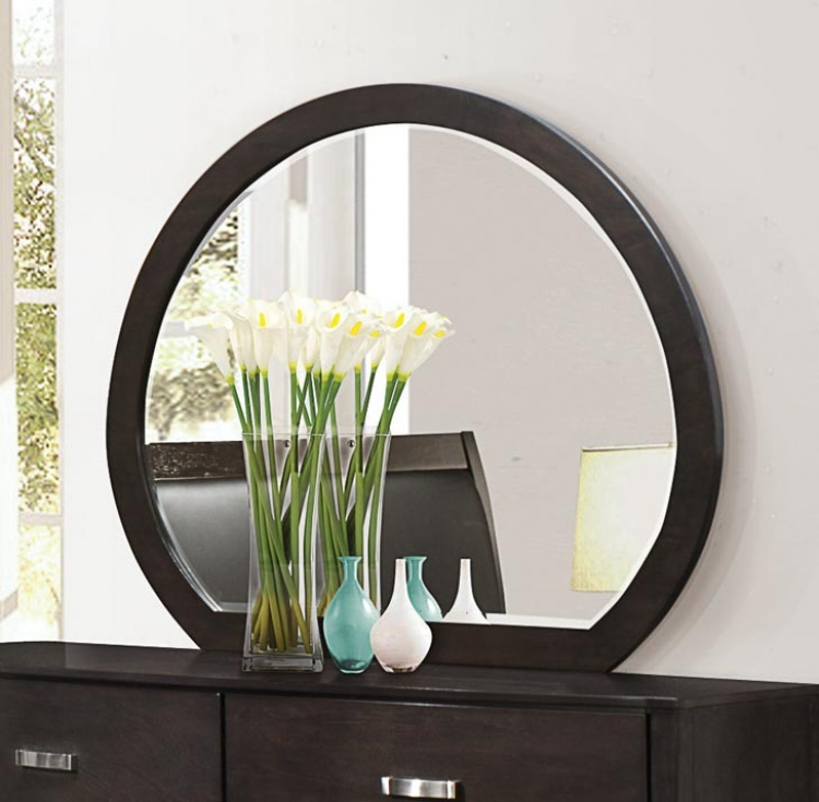 Homelegance Lyric Mirror - Brownish Grey