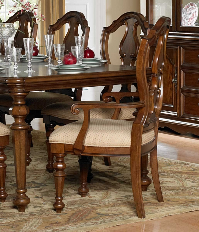 Montrose Arm Chair - Warm Brown