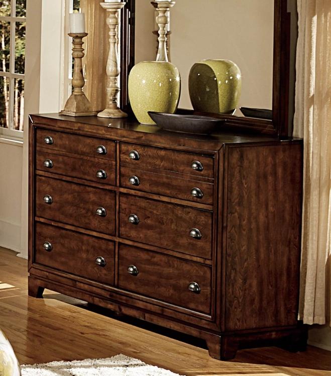 Bernal Heights Dresser - Dark Walnut