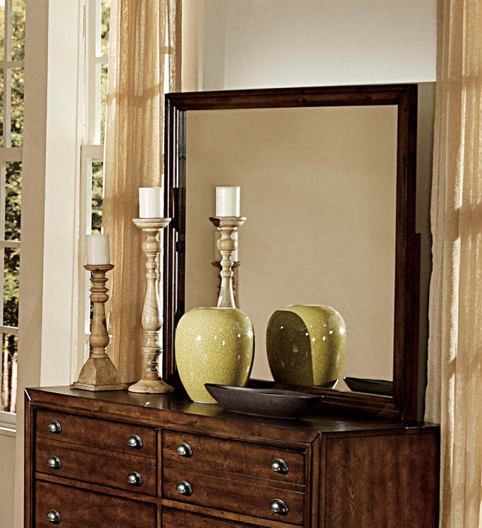 Bernal Heights Mirror - Dark Walnut