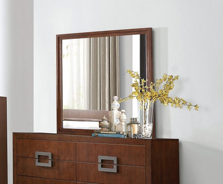 Arata Mirror - Cappucino Brown