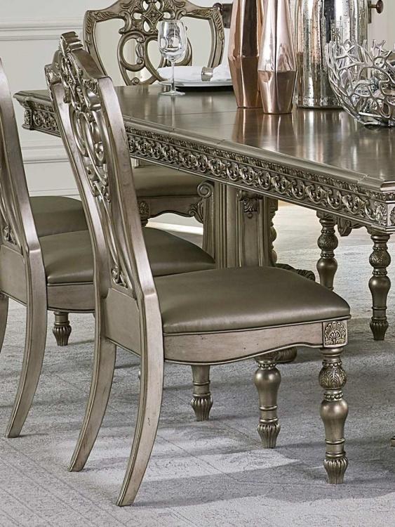 Catalonia Side Chair - Platinum Gold