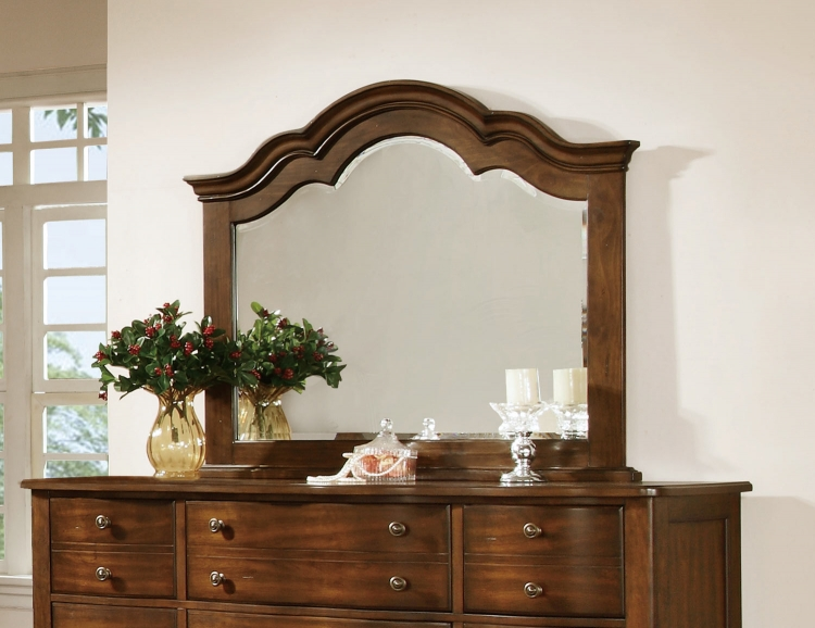 Davina Mirror - Brown Cherry