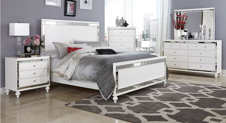 Alonza Bedroom Set - White