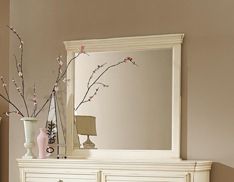 Laurinda Mirror - Antique White