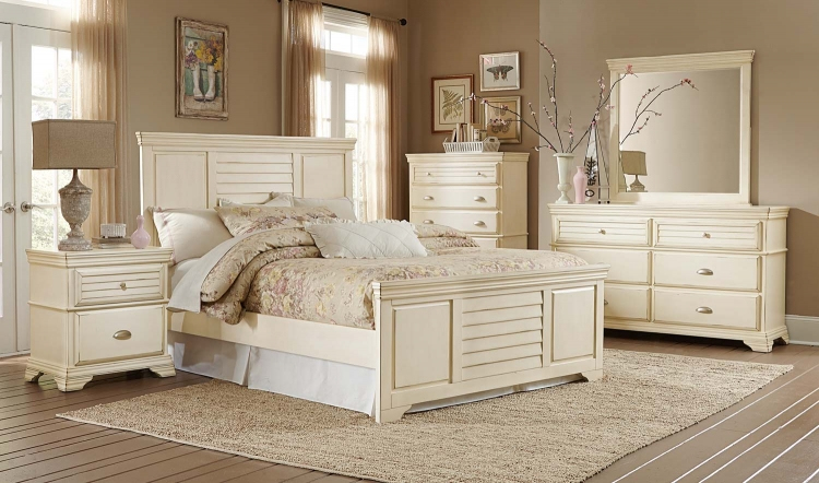 Laurinda Bedroom Set - Antique White
