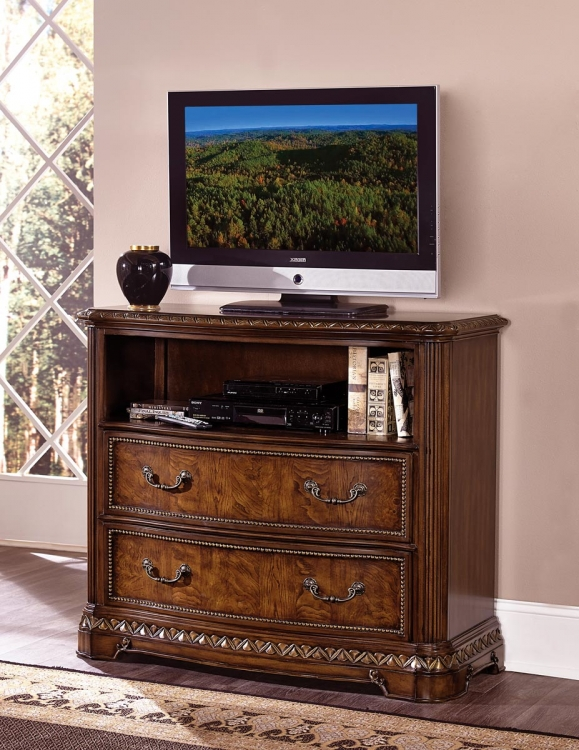 Brompton Lane TV Chest - Cherry
