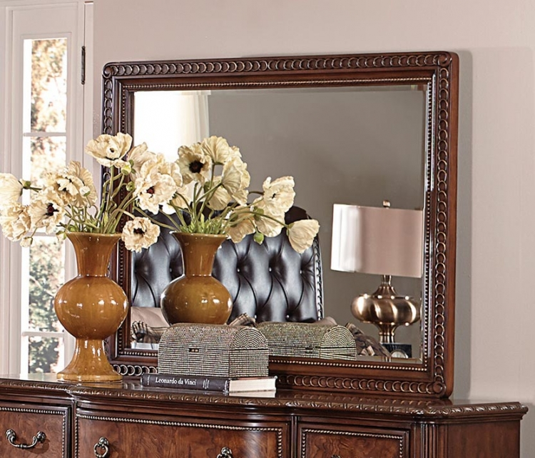 Homelegance Brompton Lane Mirror - Cherry