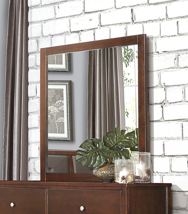 Cullen Mirror - Brown Cherry