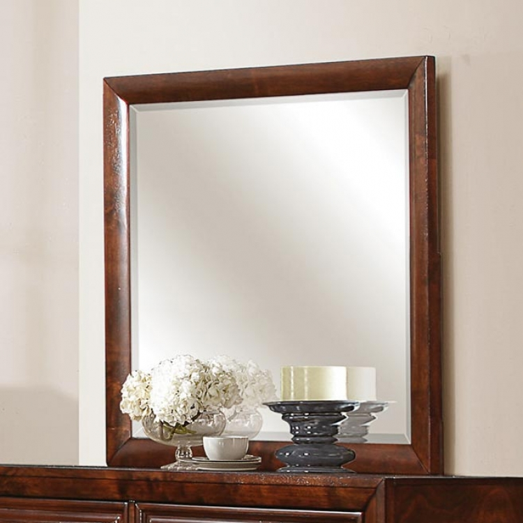 Owens Mirror - Warm Cherry