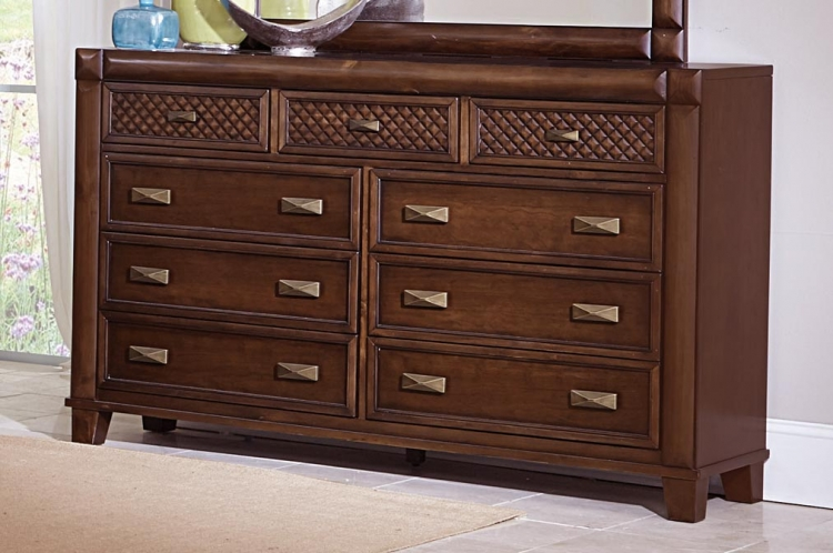 Nealon Dresser - Warm Cherry