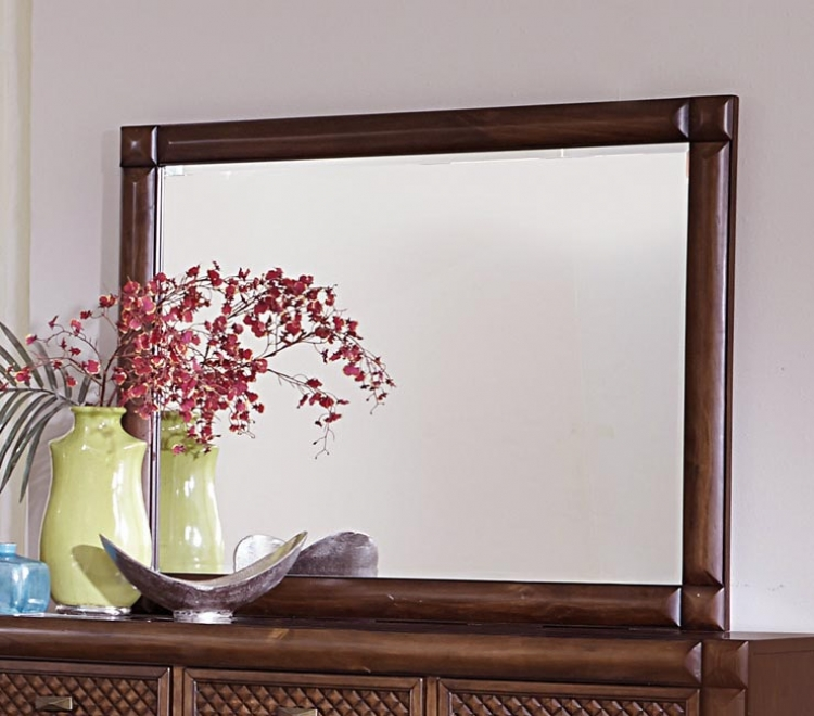 Nealon Mirror - Warm Cherry