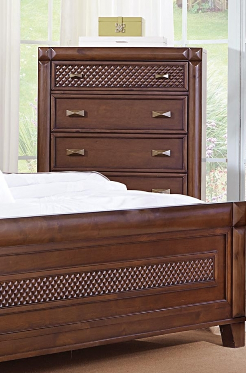 Nealon Chest - Warm Cherry