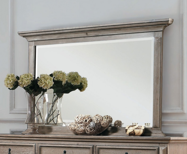 Homelegance Marceline Mirror - Weathered