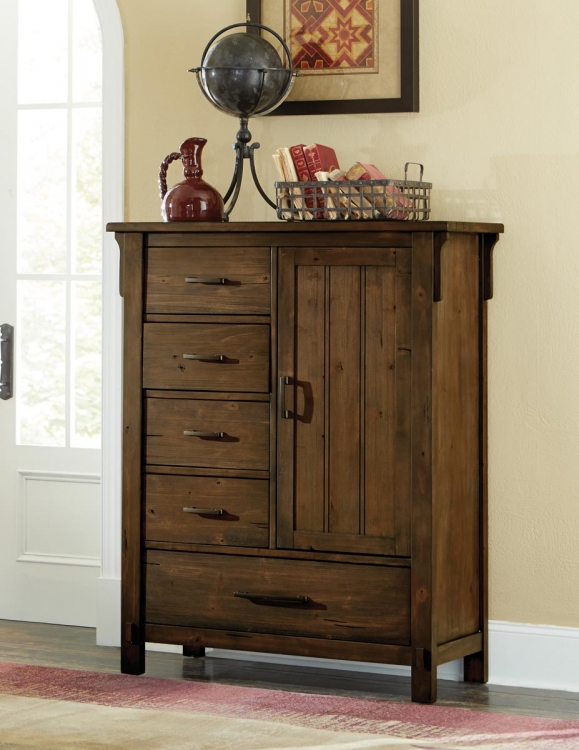 Terrace Chest - Rustic Burnish Oak