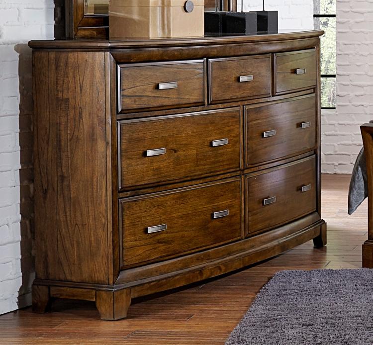 Terron Dresser - Medium Oak