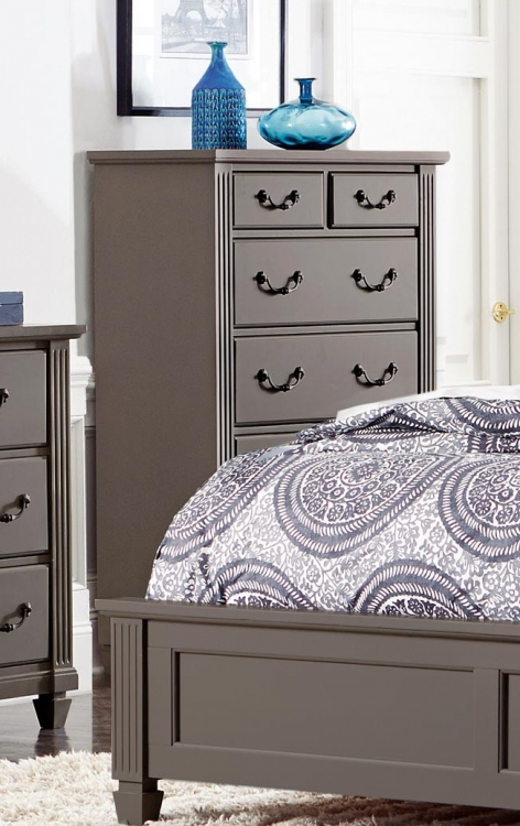 Granbury Chest - Grey Rub