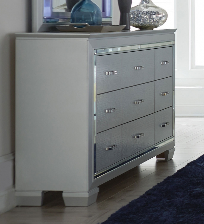 Allura Dresser - Silver