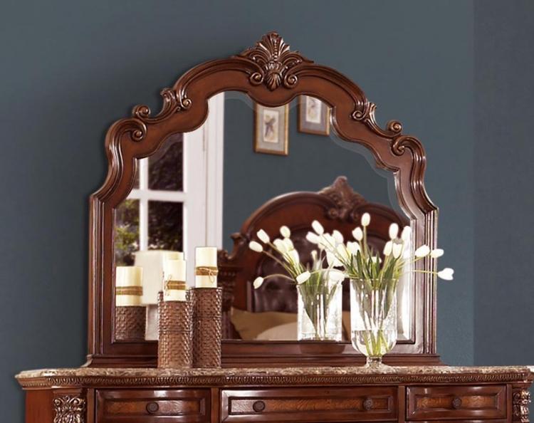 Antoinetta Mirror - Warm Cherry