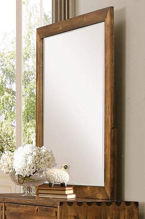Homelegance Sorrel Mirror - Rustic