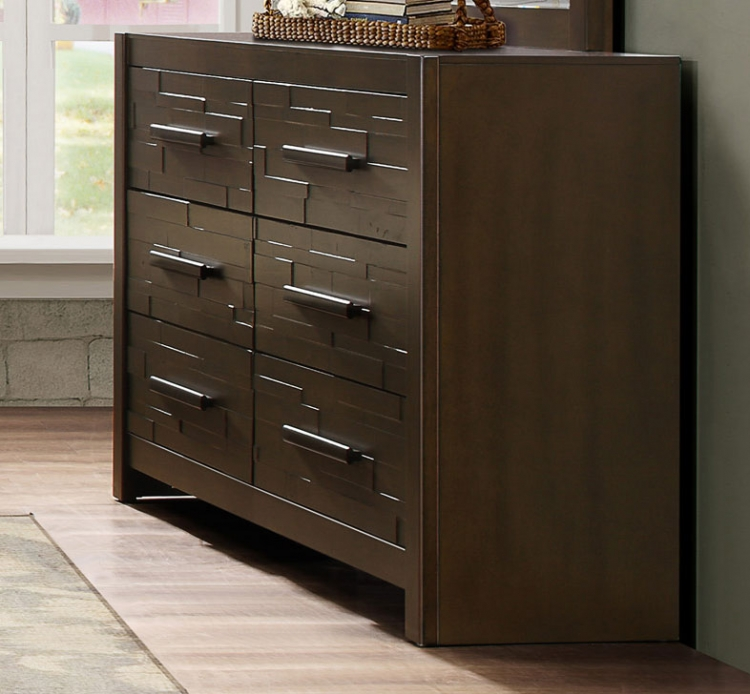 Bowers Dresser - Rustic Java Brown