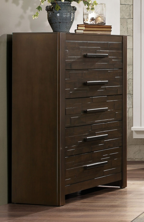 Bowers Chest - Rustic Java Brown