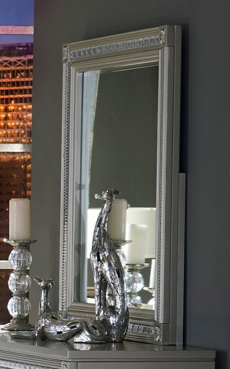 Bevelle Mirror - Silver